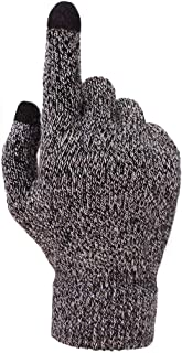 Mens Womens Winter Touch Screen Gloves Phone Tablet Full Finger Mittens Outdoor