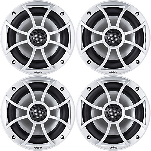 Wet Sounds XS-650 Series 6.5' Silver Cone Marine Coaxial Speaker - 200 Watts Max / 100 Watts RMS