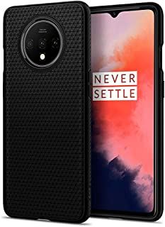Spigen Liquid Air Back Cover Case Designed for OnePlus 7T - Matte Black
