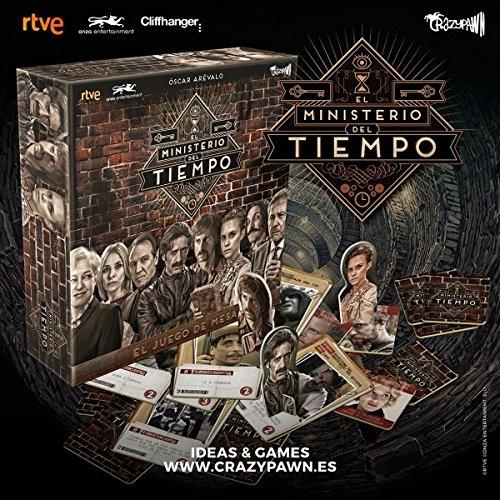 Crazy pawn Juego El Ministerio del Tiempo, Multicolor (8436564810175)