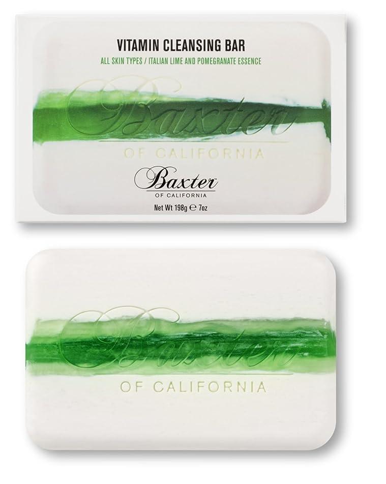 モート方法米国Baxter OF CALIFORNIA(バクスター オブ カリフォルニア) ビタミンクレンジングバー イタリアンライム&ポメグラネート 198g