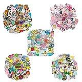 Cool Stickers,250 pcs Adesivi Carini Piccoli Stickers Skateboard Adesivo Valigia Adesivi in Vinile Bicicletta,per Laptop,Bottiglie D'acqua,Notebook,Chitarra,Viaggi,Scatola