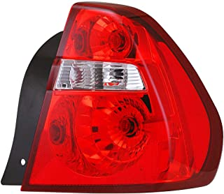 Best 2005 chevy malibu tail light replacement Reviews
