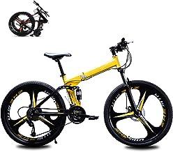 Vouwfiets, volwassen opvouwbare mountainbikes, mannen vrouwen vouwfiets, voor 24 * 26 inch 21 * 24 * 27 speed buitenfiets
