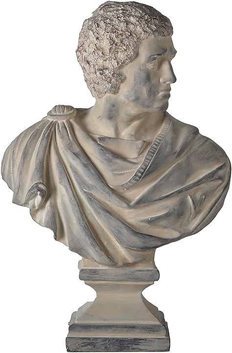 busto cesare il grande statua, busto di cesare statua modello resina arte retro iuyjvr b08rj5bf4w