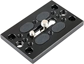 NICEYRIG Quick Release Mounting Base Plate 1/4