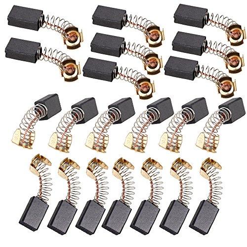 cnbtr 20 Stück 6 x 10 x 15 mm Motor Electric Kohlebürsten Ersatz für Elektromotor