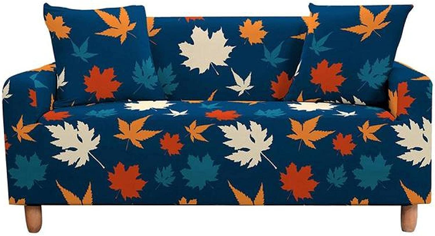 ZHOUMOLIN Tropical Leaves Slip-Resistant Branded goods Cover Soft shipfree Sofa Stretch
