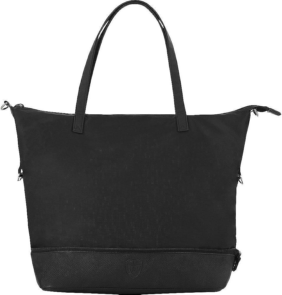 Heys America New item Regular store Zip Packaway Black Tote Lime