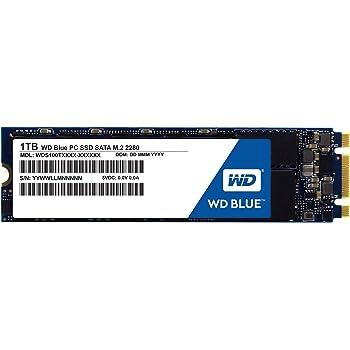 WD Blue SSD M.2 - Disco Duro sólido de 1 TB (SATA III 6 GB/s, 200 ...