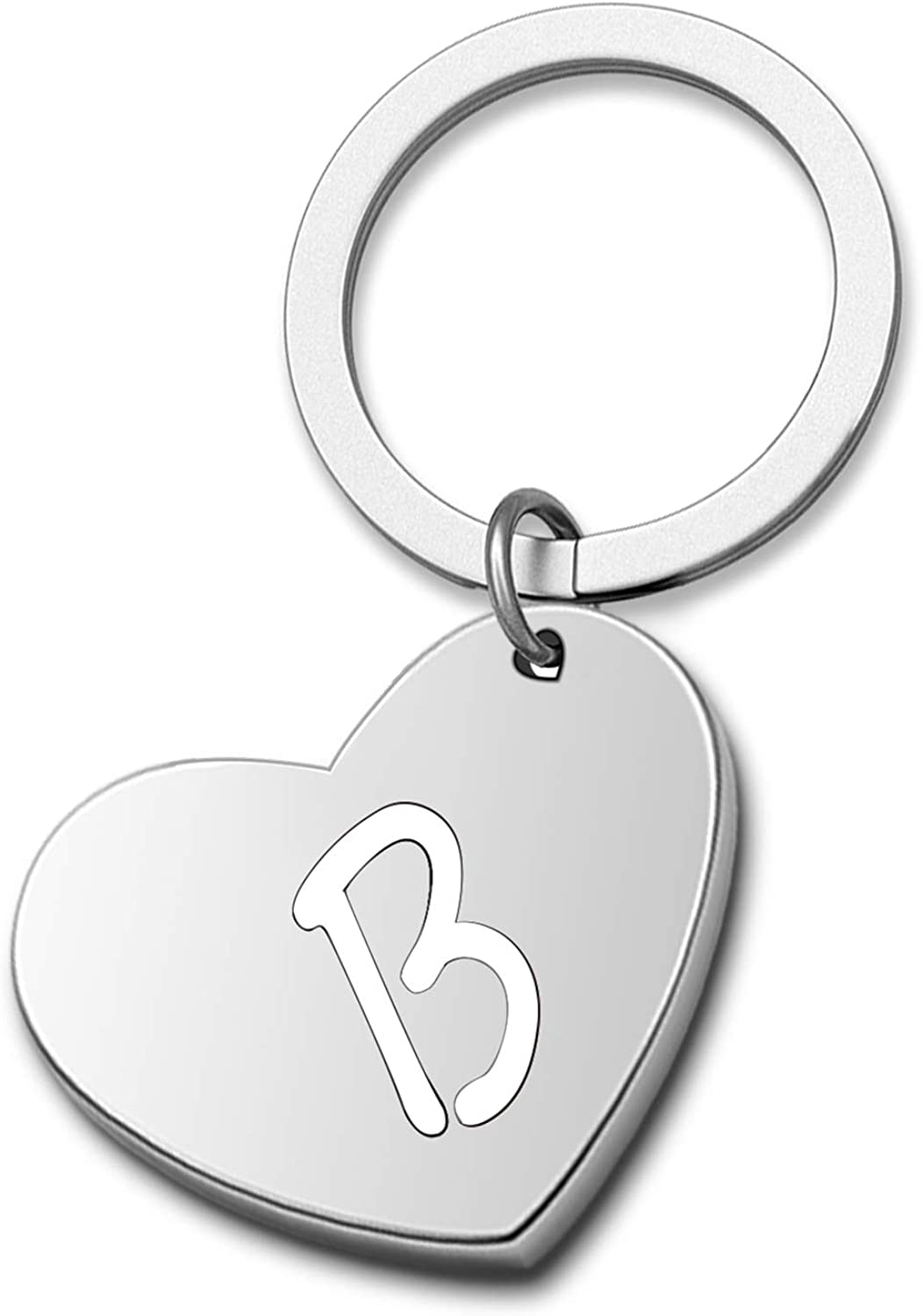 Personalized Initial Keychain Hollow Cut Alphab Out Outlet Max 64% OFF SALE