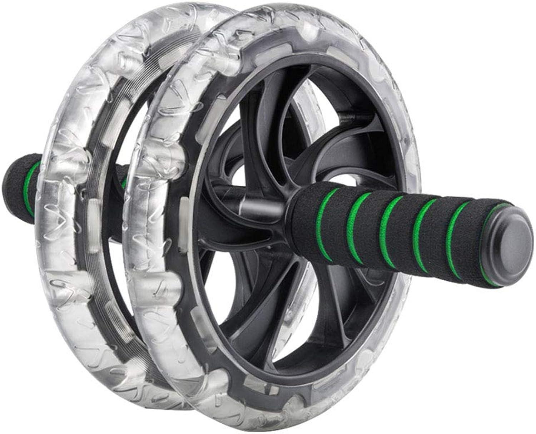 Y-Sport Training Tragbare Ab Rad Roller Kristall übung Rad Perfekte Bauch Core Fitness Workout Heim Gym mit Knie Pad