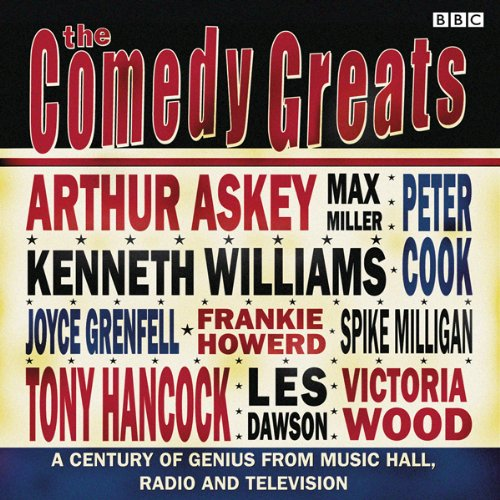 The Comedy Greats audiobook cover art