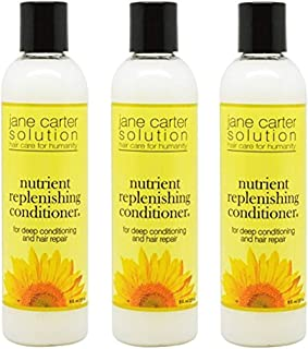 Jane Carter Solution Nutrient Replenishing Conditioner, 8 oz (Pack of 3)