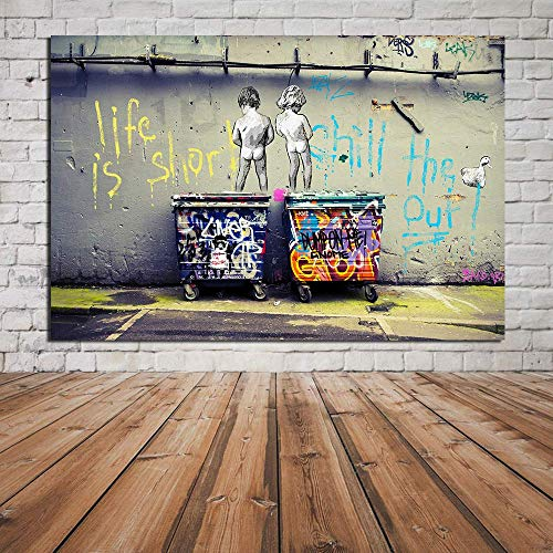 Lienzo Imprimir Pintura Graffiti Callejero