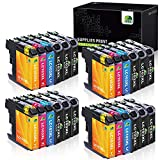 JARBO Compatible Ink Cartridge Replacement for Brother LC103 LC103XL LC101 LC101XL, Compatible for Brother MFC J870DW J450DW J470DW J650DW J4410DW J4510DW J4710DW J6720DW (24 Packs)