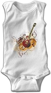 Address Verb Baby Sleeveless Bodysuits Guitar Unisex Cute Lap Shoulder Onesies