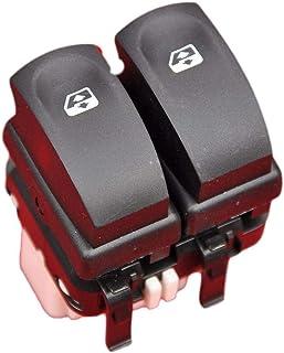 FFTH Interruttore alzacristalli Elettrico per Renault Clio 3 Symbol Modus con 6 Pin OE 8200214936