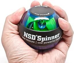 NSD Power Essential Spinner Gyro Hand Grip Strengthener Wrist Forearm Exerciser