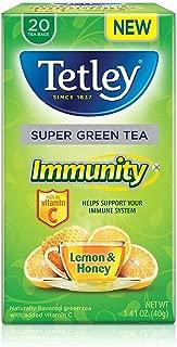 Best tetley honey lemon green tea Reviews