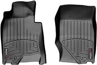 Black Nylon Carpet Coverking Custom Fit Front Floor Mats for Select Nissan Sentra Models
