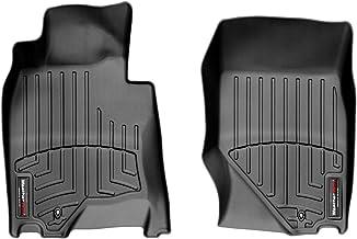 Black Coverking Custom Fit Rear Floor Mats for Select Chevrolet Avalanche Models Nylon Carpet