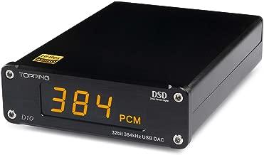 TOPPING D10 Mini USB DAC CSS XMOS xu208 es9018k2m opa2134 Decoder Audio Amplifier