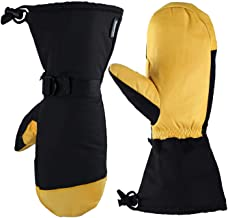 OZERO -40 ℉ Winter Gloves Cold Proof Snow Work Ski Mittens with 3M Thinsulate Insulated..