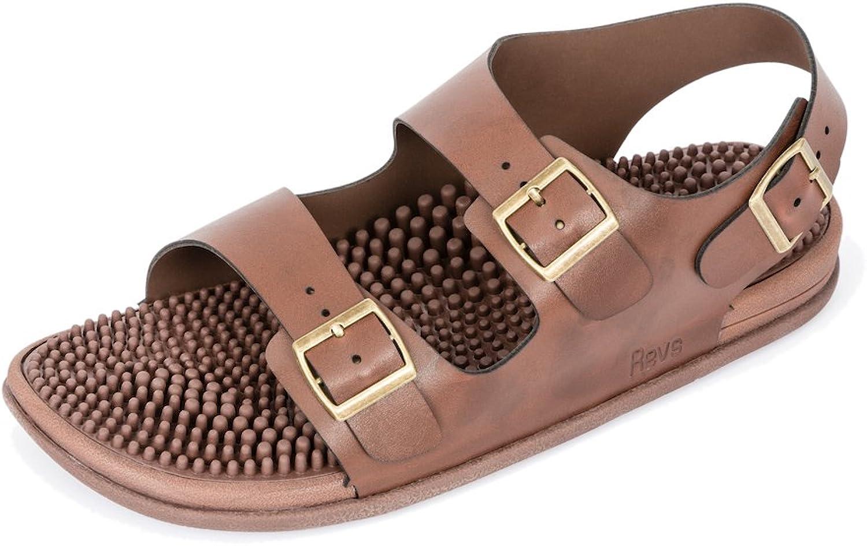 Revs Reflexology Massage Trek Sandals for Men & Women. Enjoy The Benefits of Reflexology in a shoes. Walk Your Way to Well-Being with a Daily Foot Massage