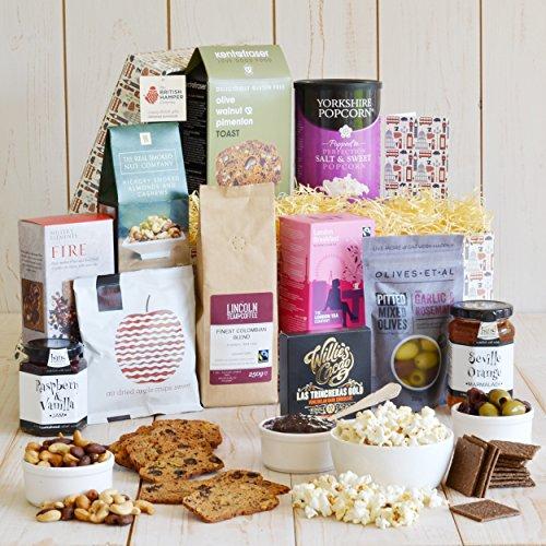 Vegan Gourmet Hamper - Contains a Hand Picked Selection of Artisan British Vegan Treats