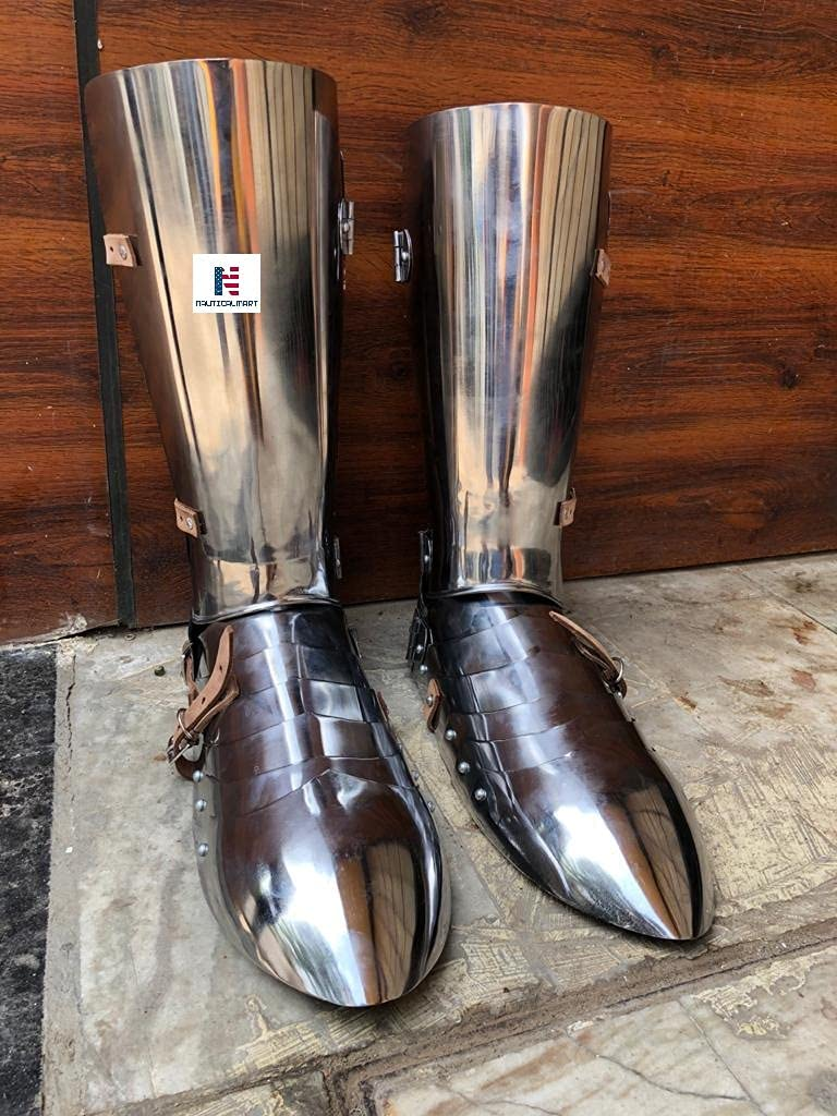 Max 84% OFF Nautical-Mart Cheap mail order specialty store Medieval Functional Gothic Armor Greaves Leg Guard