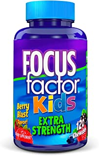 Focus Factor Kids Extra Strength Complete Vitamins: Multivitamin & Neuro Nutrients..