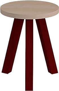 パモウナ スツール 幅35×高さ35×奥行45 日本製 CNANST40TBELCR