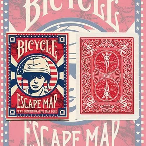 SOLOMAGIA Bicycle Escape Map Deck - Tarjeta Juegos - Trucos Magia y...
