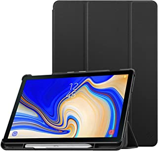 Fintie Slim Case for Samsung Galaxy Tab S4 10.5 2018 with S Pen Holder, Ultra Thin Tri-Fold Stand Cover with Auto Sleep/Wa...