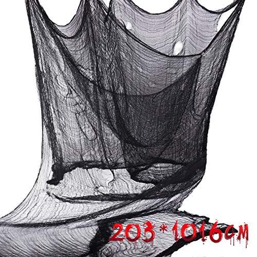 Joyjoz ハロウィン グッズ 飾り お化け屋敷 203cm*1016cm おまつりおばけ ばけ ハンギング 雰囲気満点 ハロ...