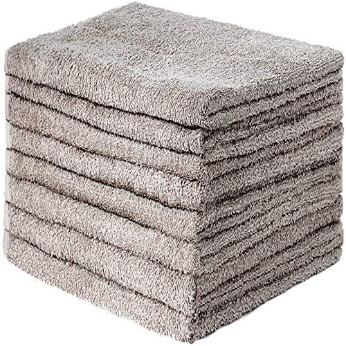 GREEN MARK Textilien 8er Pack Frottier Handtücher mit Aufhänger 50x100cm Handtuch 100{79fc2bbe8fc6a277333a9d8aa585c03dc3257406cf593f600f0459ae19d4df43} Baumwolle Farbe: Sand/Beige
