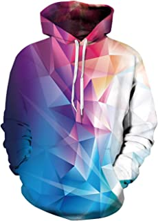 3D Printed Graphic Hoodies Cool Realistic Pullover Athletic Hooded Sweatshirts for Men & Women