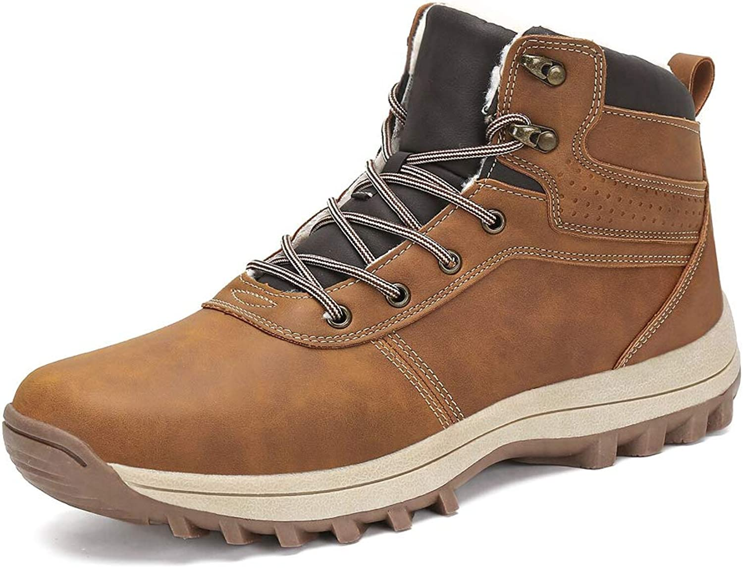 AFT AFFINEST Mens Snow Boots Waterproof Outdoor Hiking shoes Ankle Sneakers