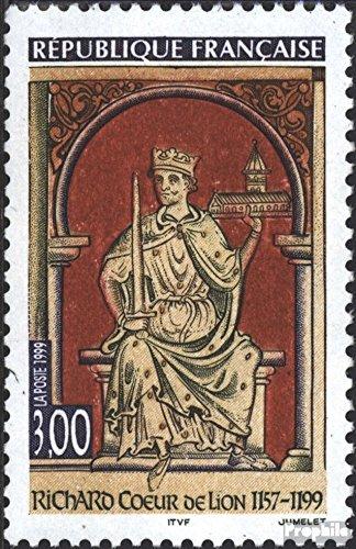 Prophila Collection Frankreich 3379 (kompl.Ausg.) 1999 König Richard Löwenherz (Briefmarken für Sammler)
