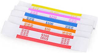 Assorted Currency Straps/Bands (150 Assorted)