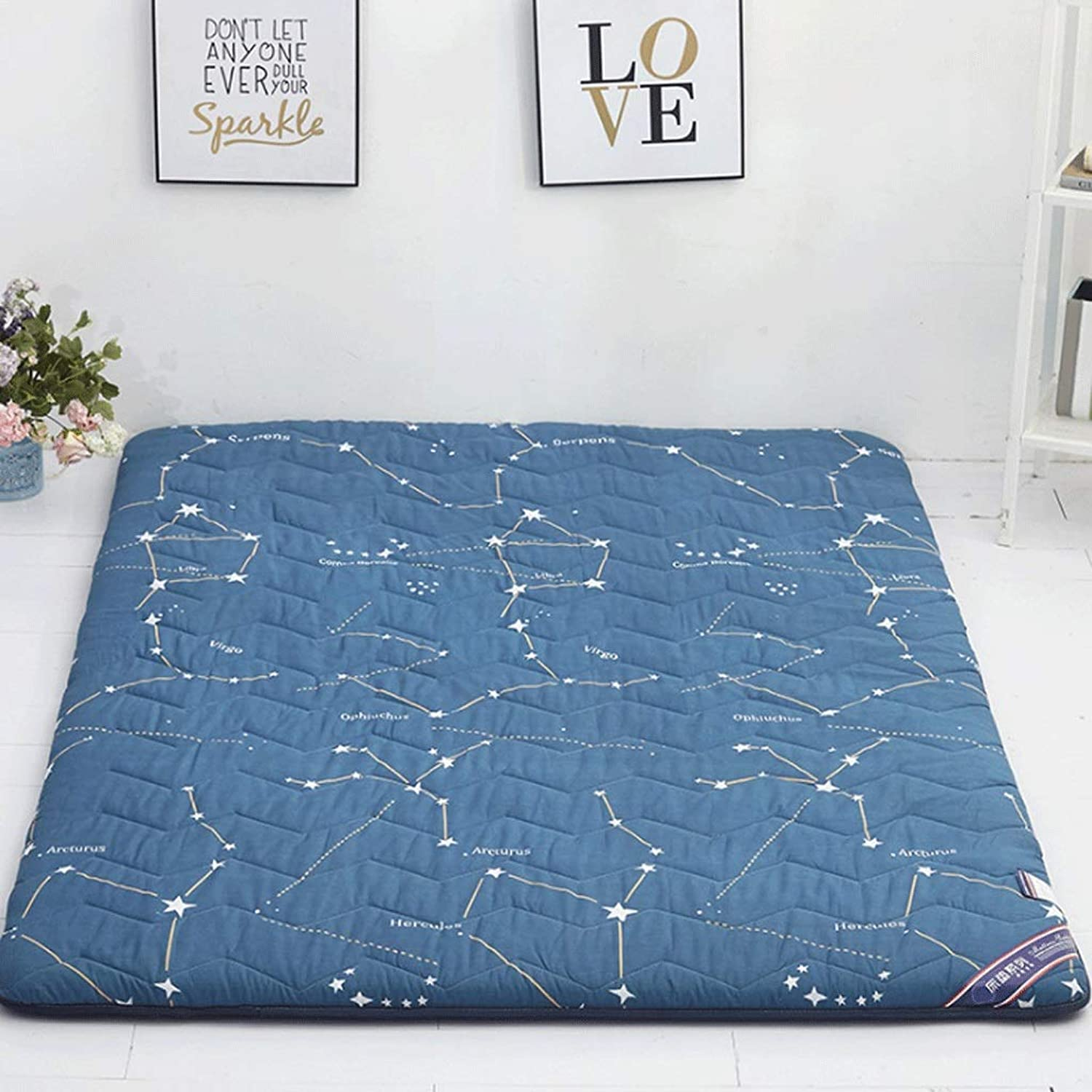 Student Dormitory Mattress Thickened Home Tatami Mat G (Size   90x200cm)