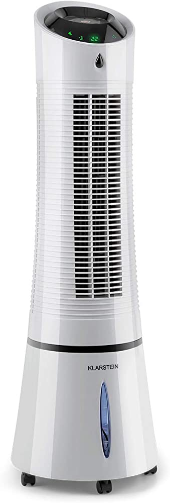 Klarstein skyscraper ice, condizionatore portatile, 4in1: raffrescatore, ventilatore, umidificatore, depurator ACO4-1300-euwe