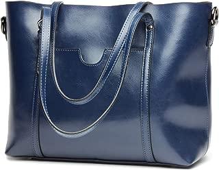 Covelin Women's Handbag Genuine Leather Tote Shoulder Bags Large Hot