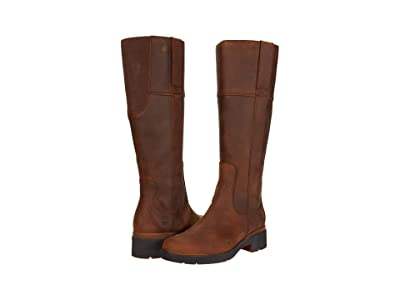Timberland Gracelyn Waterproof Tall Boot (Rust Full Grain) Women