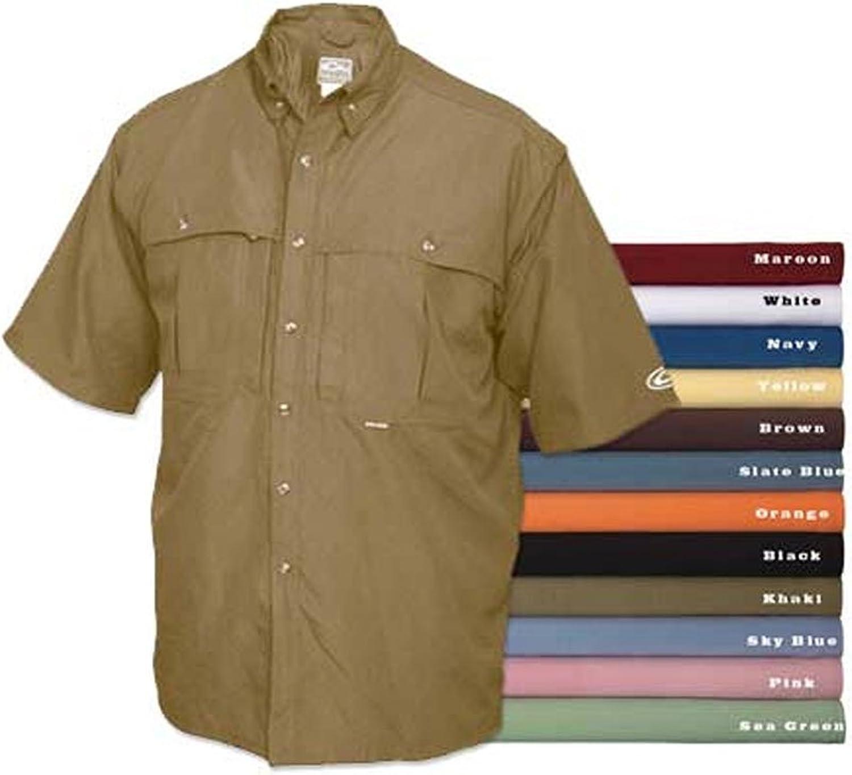 Drake Vented Wingshooter's Short Sleeve Casual Shirt (Small