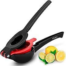 Zulay Premium Quality Metal Lemon Lime Squeezer – Manual Citrus Press Juicer,..
