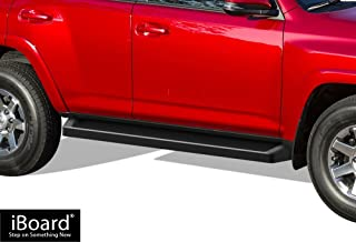 APS iBoard Running Boards (Nerf Bars Side Steps Step Bars) Compatible with 2010-2016 Toyota 4Runner Trail & 17-20 TRD Off-Road & 2014-2020 SR5 (Black Powder Coated Running Board Style)