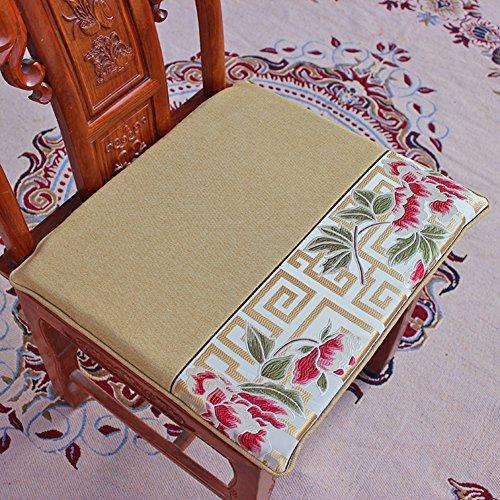 xinping Chair Pads Coussin de Chaise Canapé Tapis de siège, D, 44x48cm(17x19inch)