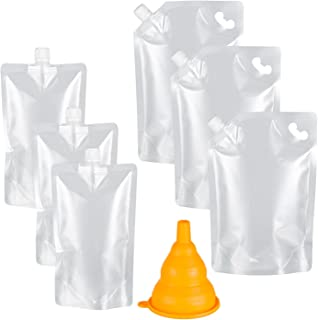 plastic pouch with spout